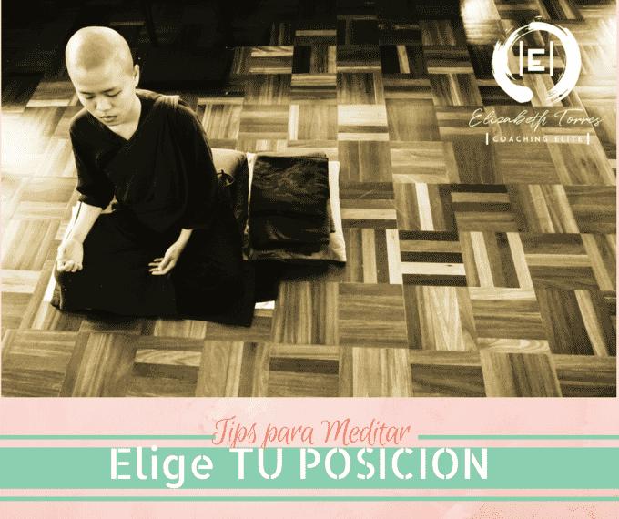 Tips para Meditar  ♥ Tip 3 Elige tu POSICIÓN